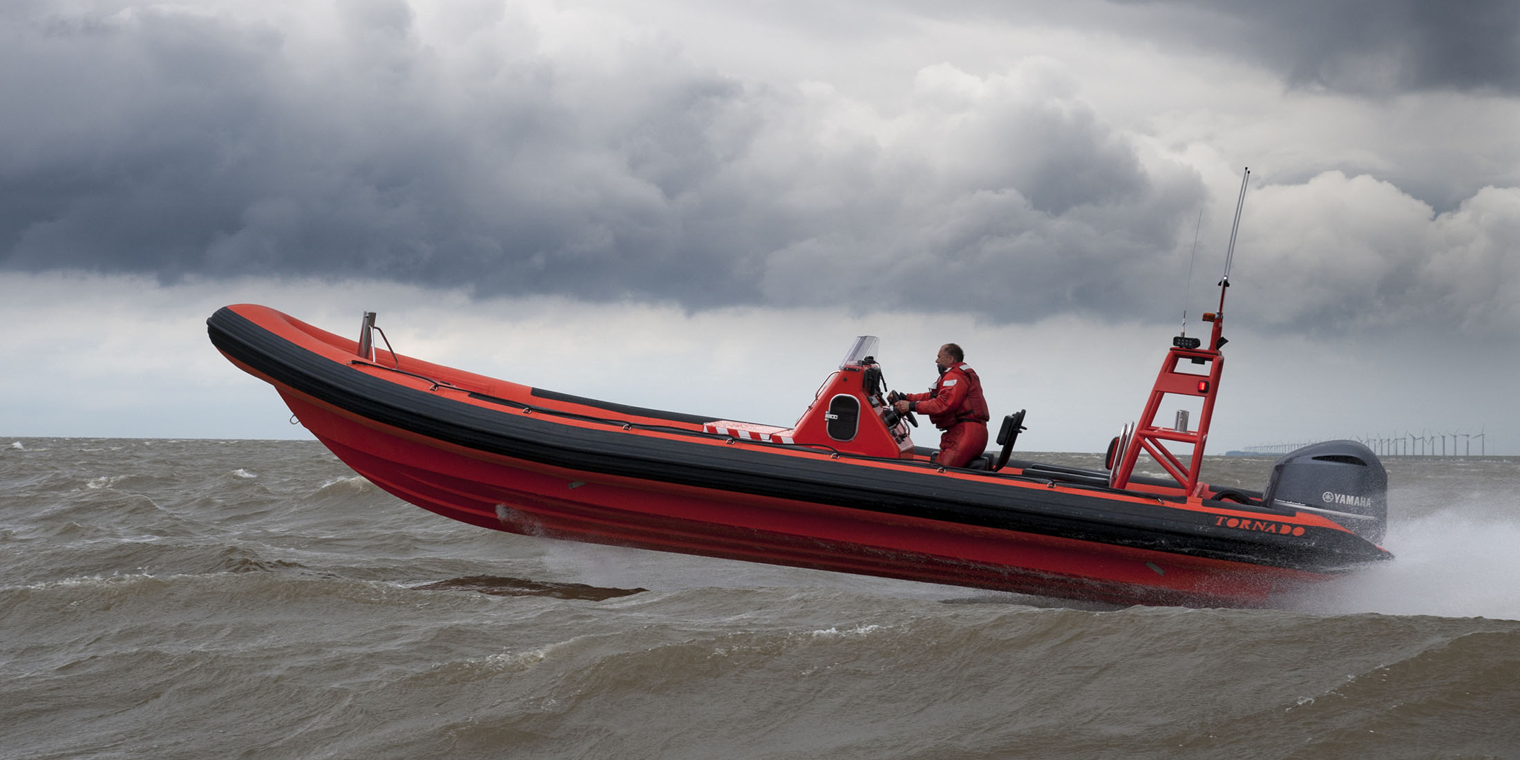 Tornado 10m super model RIB. One of our favorite RIBs in its category