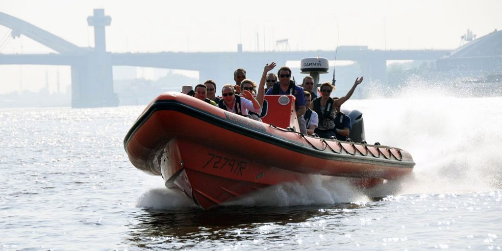 Tornado 10m super RIB. Our third largest event and seafari boat