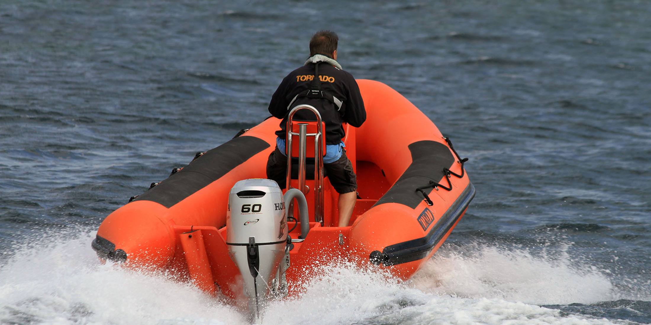 Rescue, offshore, military and police boats. Tornado 5.4m high performance RIB