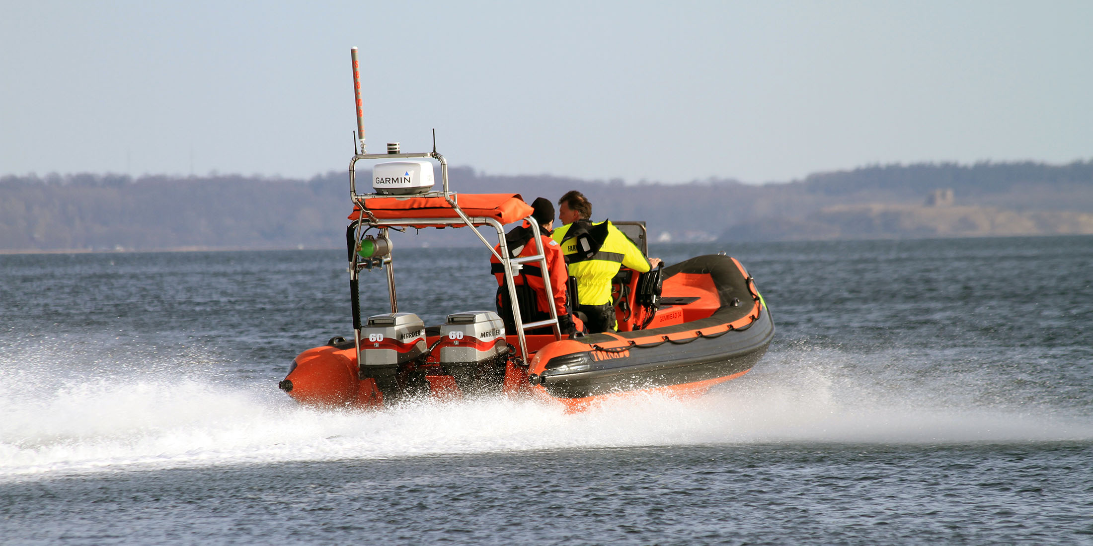 Rescue, offshore, military and police boats. Tornado 5.8m high performance RIB