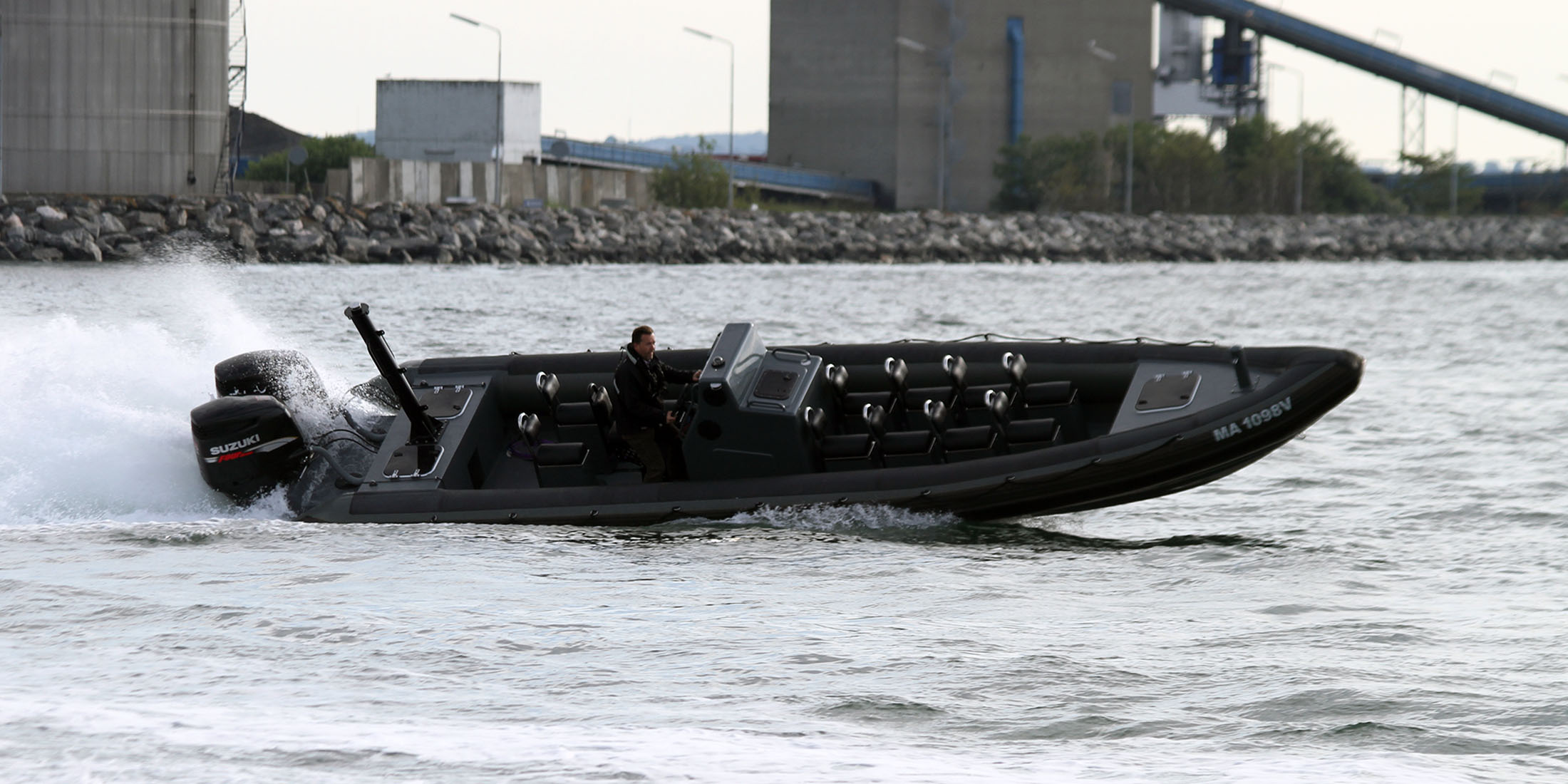 Rescue, offshore, military and police boats. Tornado 9.5m high performance RIB