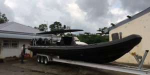 Tornado 12.5m High Performance RIB