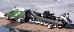 Tornado 6.4m Police Boat