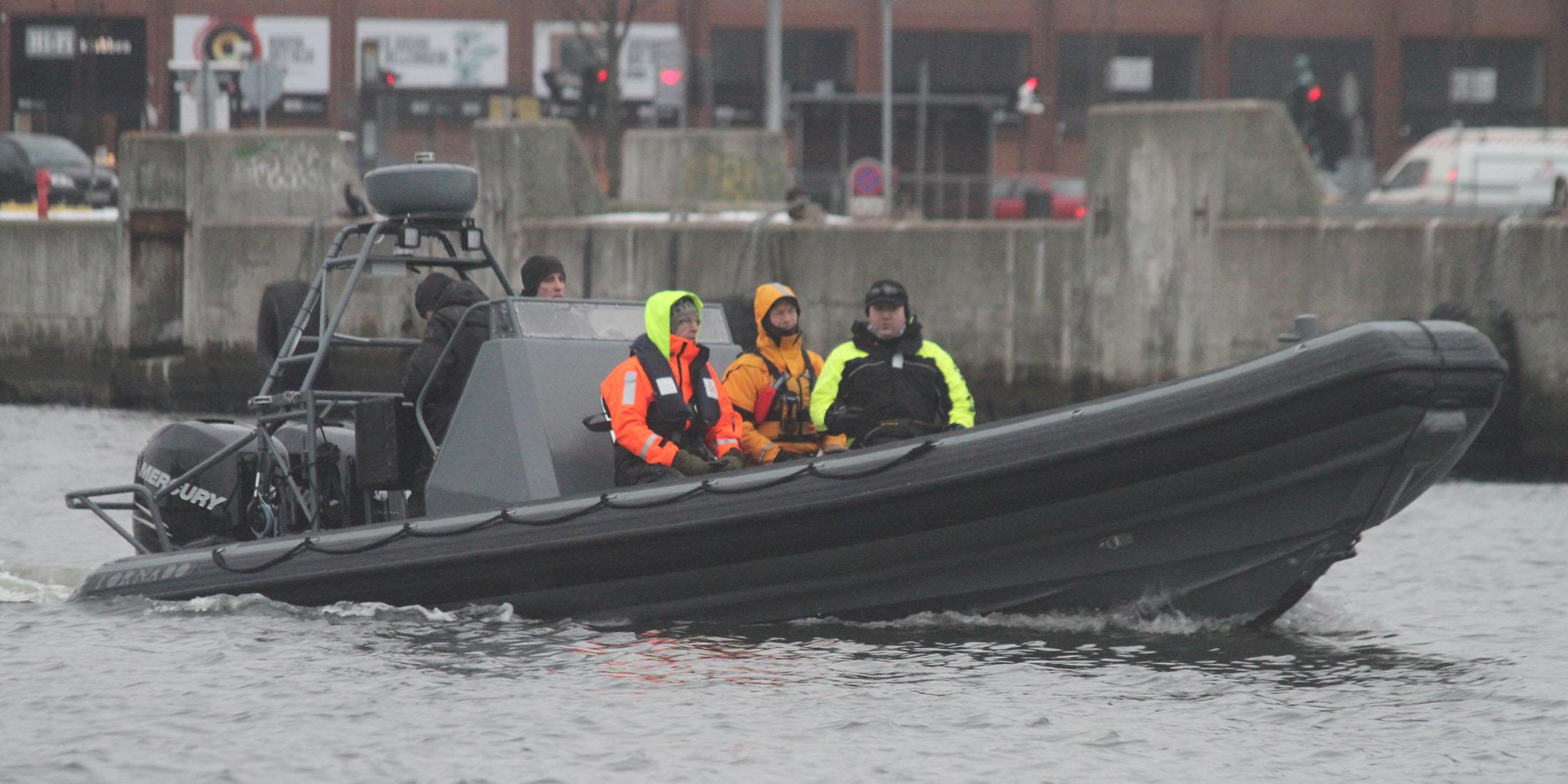 Rescue, offshore, military and police boats. Tornado 8.5m multi purpose RIB