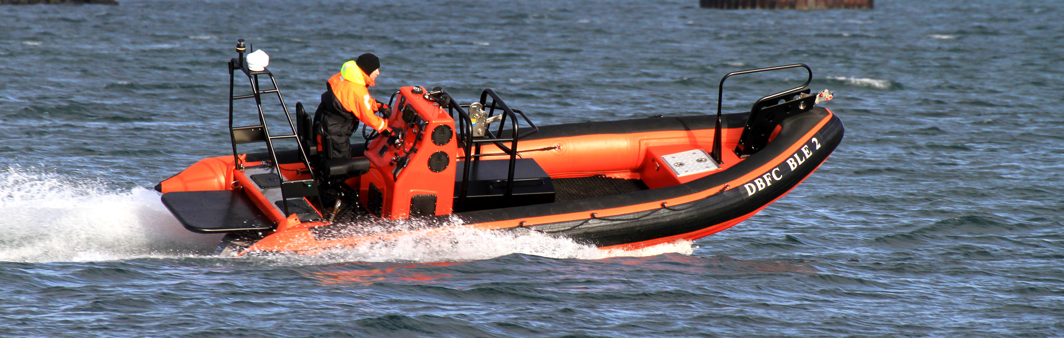 6.9m multi purpose rib from Tornado Boats