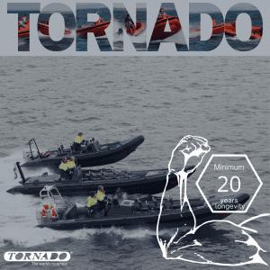 minimum 20 years longevity of a tornado
