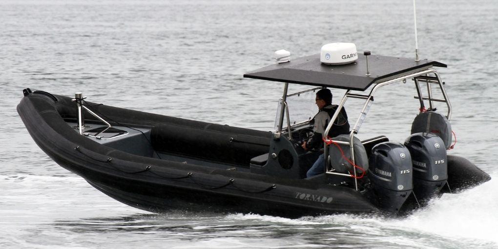 Rescue, offshore, military and police boats. Tornado 7.5m multi purpose RIB