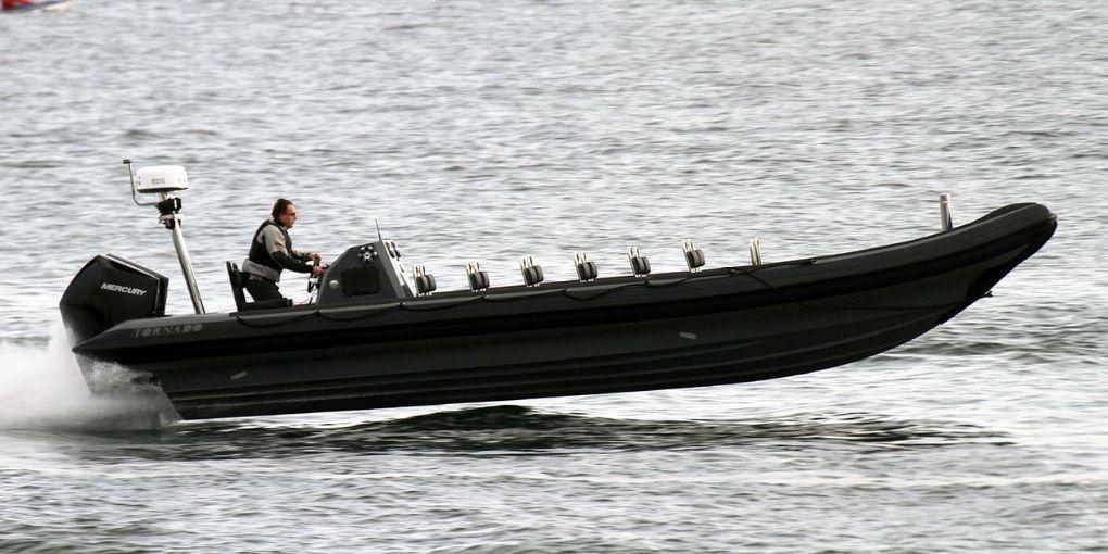 9.5m hp rib
