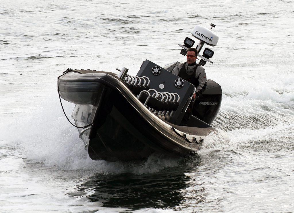 Tornado 9.5m high performance rigid inflatable boat