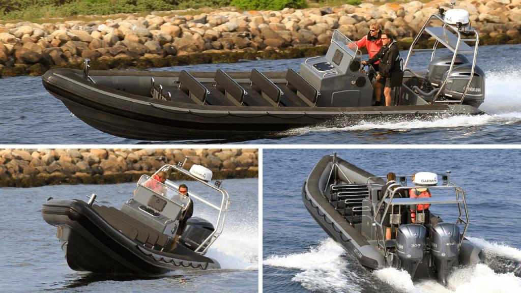 9.8m rib boat from Tornado