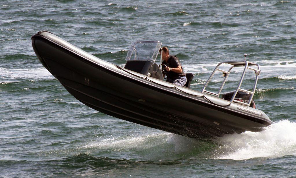 6.4m RIB boat from Tornado